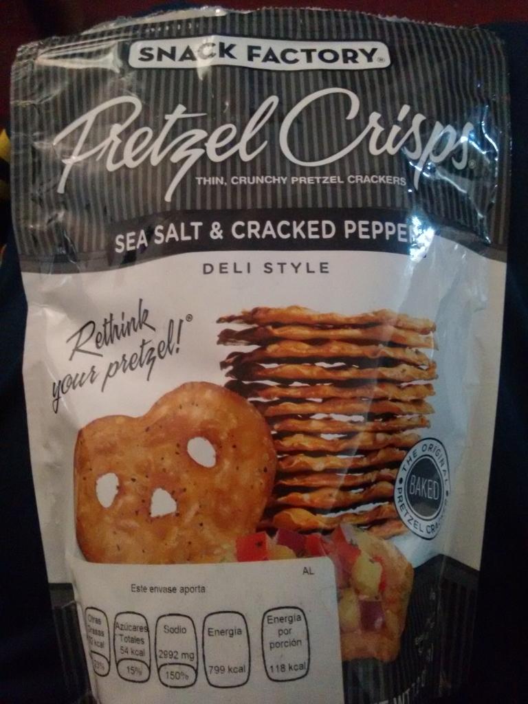 Walmart Sta María: Pretzels Crisps Snacl Factory a $11.01