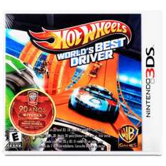 Walmart online: Hot Wheels World's Best Driver Nintendo para 3DS