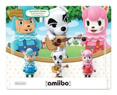 Amazon: Amiibo Animal Crossing Series - 3 Pack