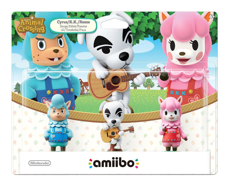 Amazon: Amiibo Animal Crossing Series - 3 Pack
