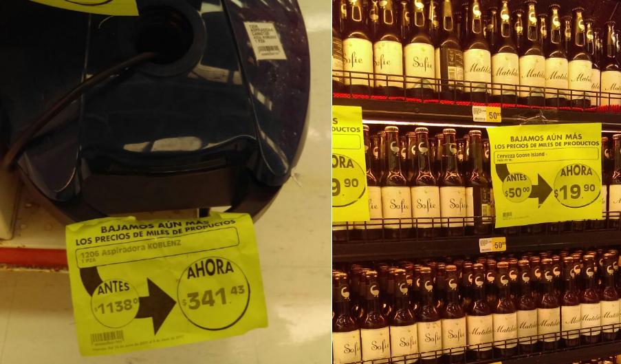 """MEGA Suc. Boca del Rio: Aspiradora KOBLENZ de $1138 a $341 y Cerveza goose island """"Matilda"""" y """"Sofie"""" de $50 a $19.90"""