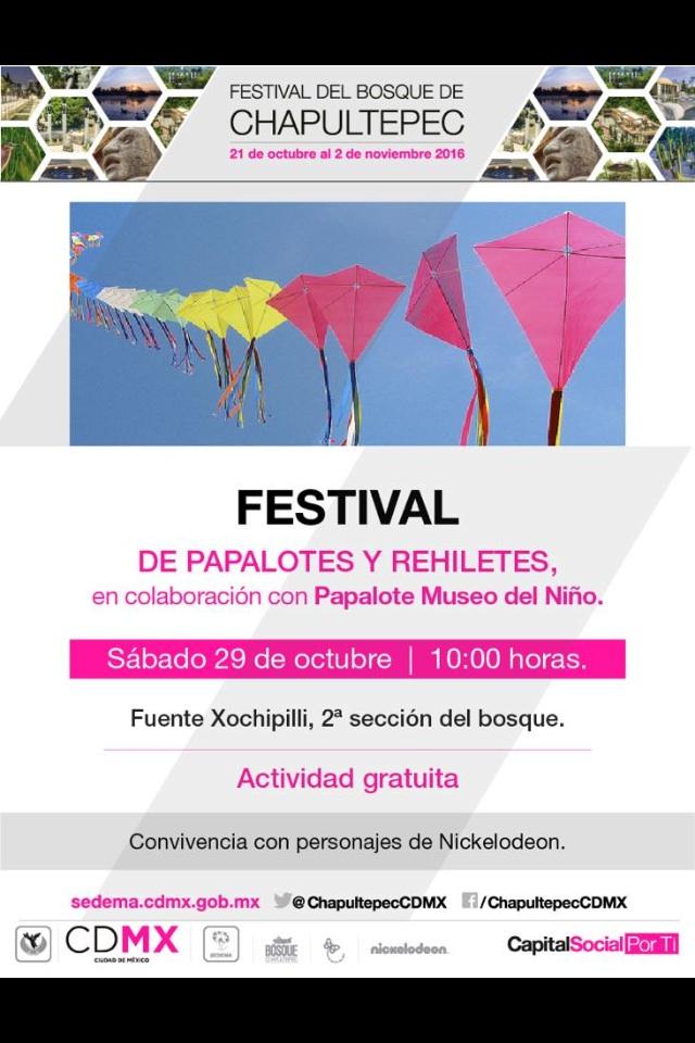 CDMX Festival de papalotes y rehiletes