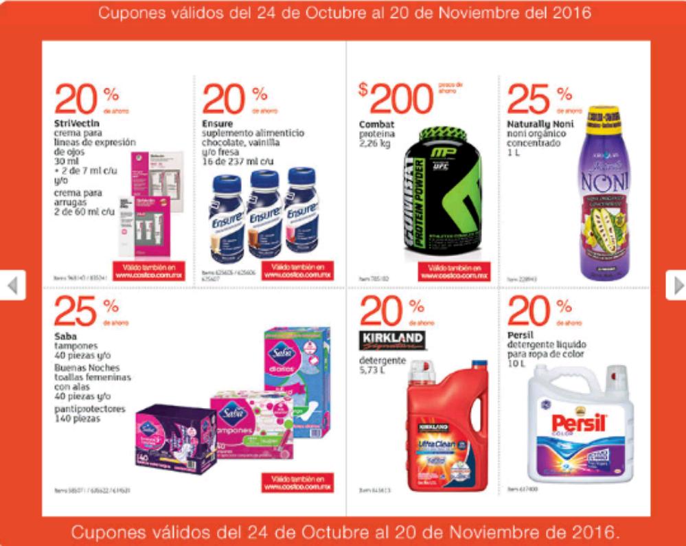 Costco: Folleto de ofertas del 24 de octubre al 20 de noviembre