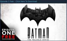 Steam: Batman (The Telltale Series) - Primer episodio GRATIS por tiempo limitado
