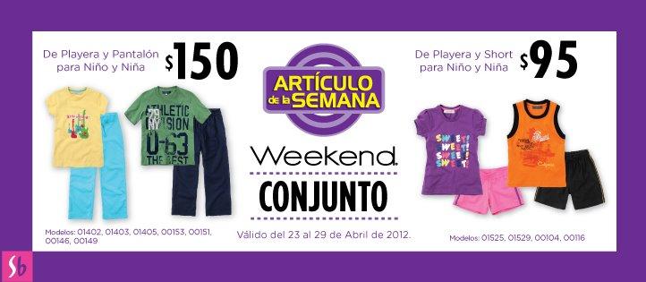 Artículo de la semana en Suburbia: conjuntos para niños desde $95
