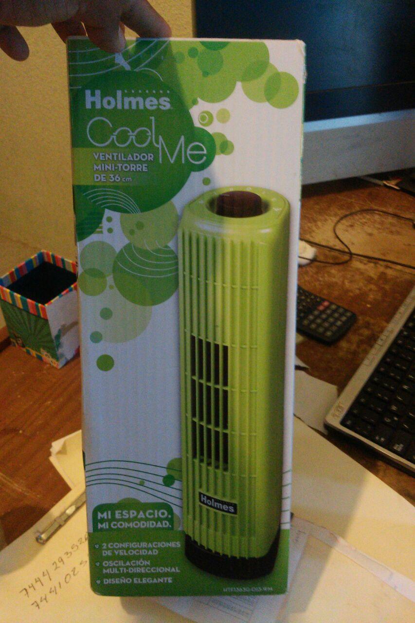 Bodega Aurrerá: ventilador de torre a $44