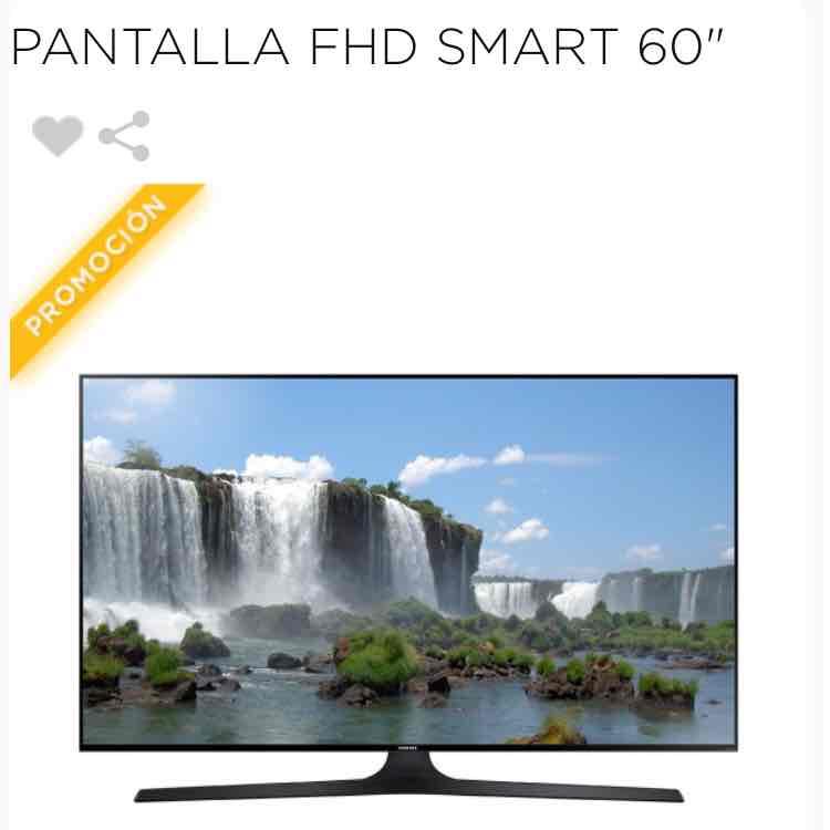 Palacio de Hierro: Pantalla FHD Smart 60