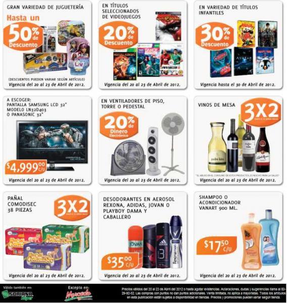 Soriana: 3x2 en vinos de mesa, pañales ComodiSec, descuentos en jueguetes, videojuegos y más