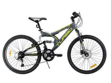 Netshoes: Bicicleta Turbo KINETIC 21V R-24 $2,441 (20% menos en bicis Turbo)