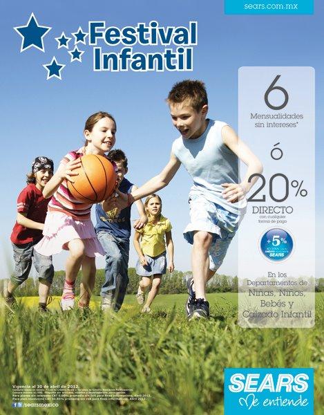 Sears: 6 MSI o 20% de descuento directo en departamentos de niños y bebés