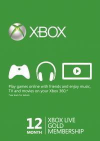CDkeys: Membresía Xbox Live GOLD - $740.00 MXN
