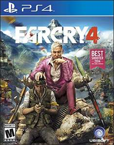 Amazon: Far Cry 4 para PS4 a $13 dólares, Xbox One $19