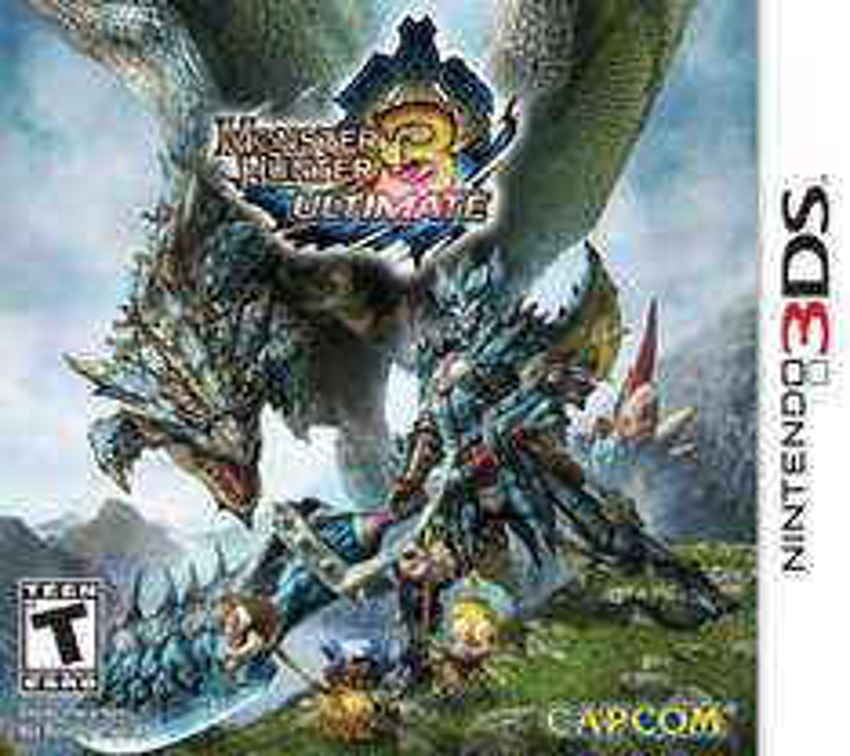Amazon MX: Monster Hunter 3 Ultimate 3DS