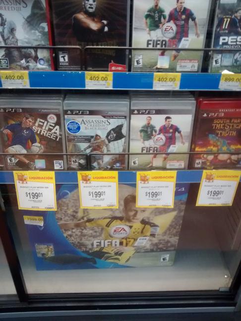 Walmart: Remates de juegos para PS3