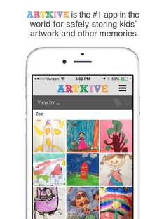 AppStore: Artkive-save-kids-art Gratis