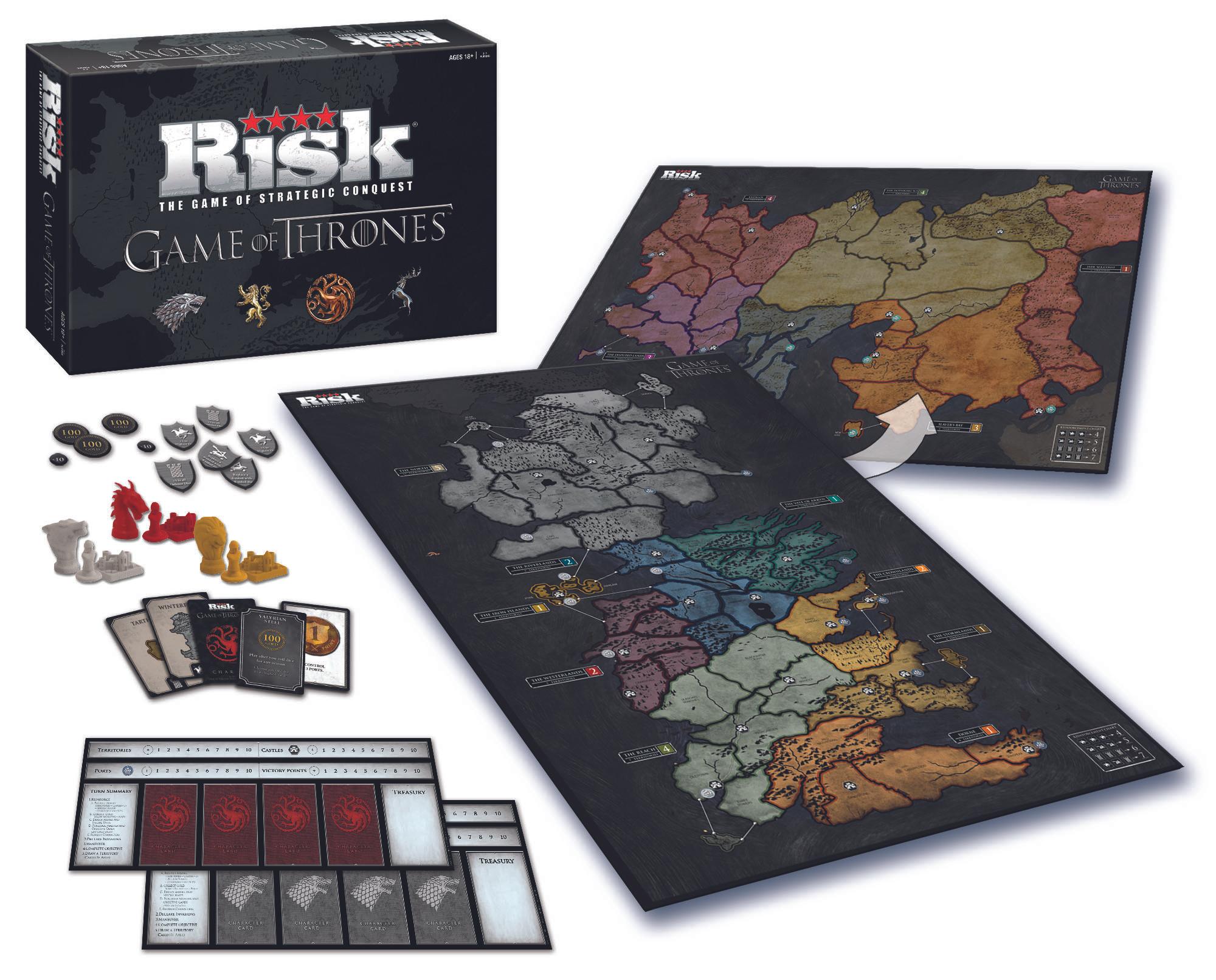 Amazon: Juego de mesa Risk Game Of Thrones de $1,400 a $913 Edicion Coleccionista