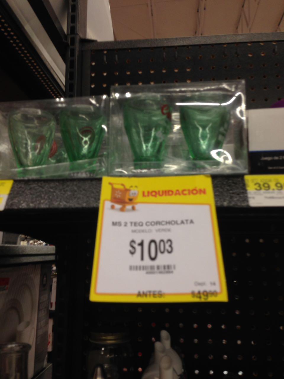 Walmart: 2 tequileros corcholata y más ofertas