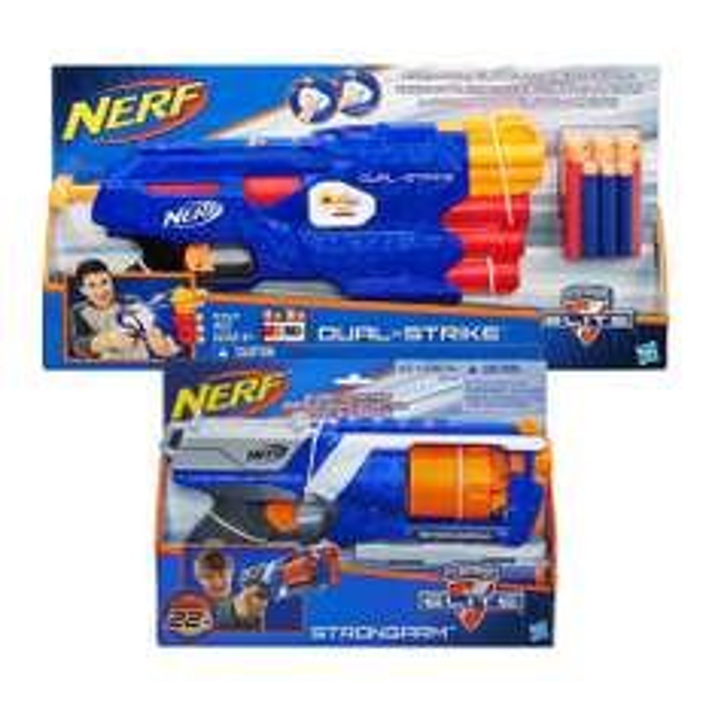 Walmart en linea: 2 Pistolas Nerf x $399