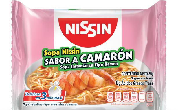 Al Super Saltillo Las Flores: Sopa Nissin Ramen 85 gr y Puré Heinz 200 gr $1.00