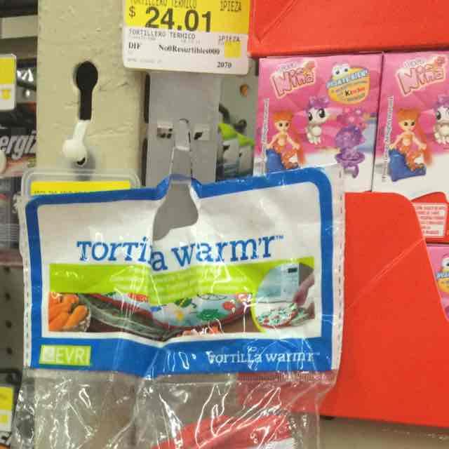Walmart: Tortillero de tela a $24.01
