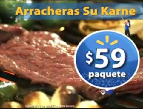 Fin de semana de frescura Walmart abril 13: bistec de res $59 el kilo y más