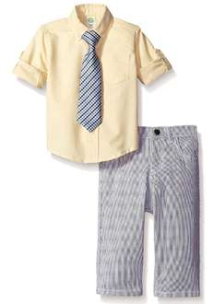 Amazon: Little Me Bebé Boys 'Woven Pant Set'