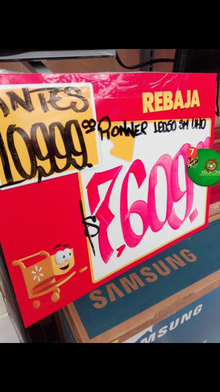 """Walmart Veracruz Norte: pantalla Pioneer UDH 50"""" a $7,609"""