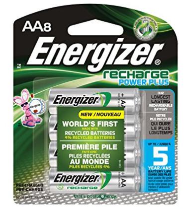 Amazon Baterías recargables Energizer AA 8 Pzas. 2300 mAh