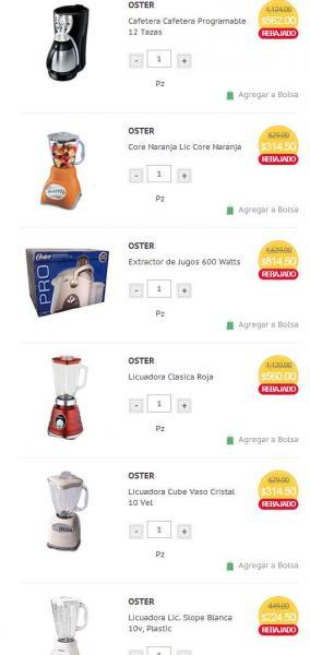 HEB: 50% de descuento en electrodomésticos Oster, Sunbeam y Rival