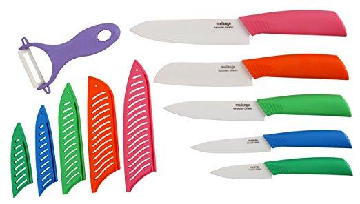 Amazon MX: cuchillos de cerámica melange 11 piezas