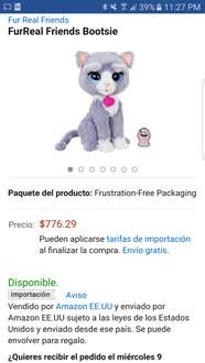 Amazon MX: gatita furreal friends a $617