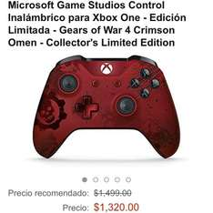Amazon MX: Control Xbox One edición Gears Of War 4