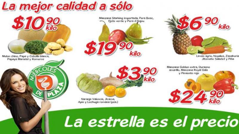 Miércoles de Plaza Comercial Mexicana abril 4: pera y manzana $19.90 y más