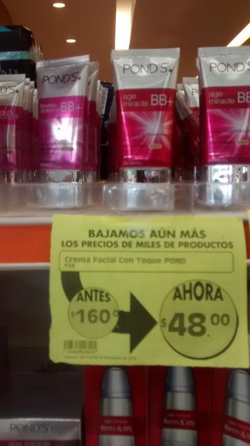 Comercial Mexicana Mega Serdan: BB Ponds a $48, shampoo Sedal, enjuague bucal y más