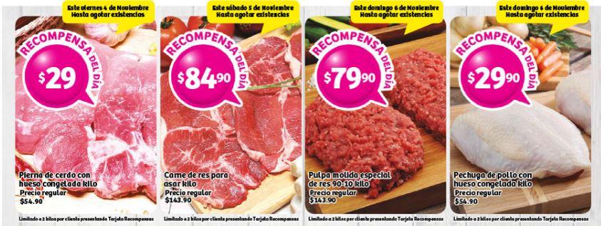 SORIANA: Ofertas de Carnes 5 y 6 de Noviembre