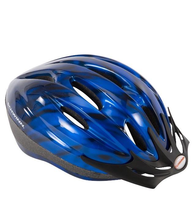 Amazon EEUU: Casco para bicicleta Schwinn Intercept Azul