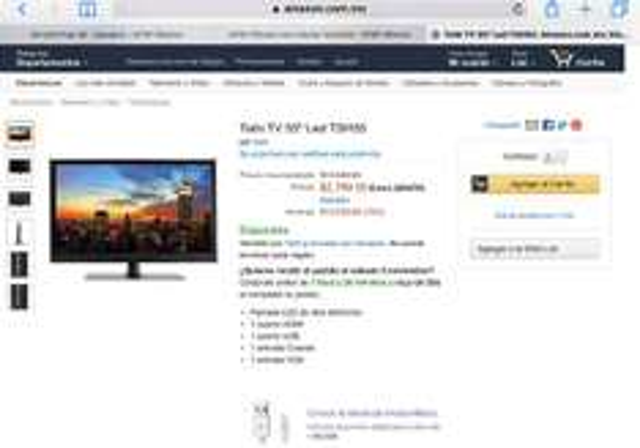 """Amazon: pantalla Tishi 24"""""""