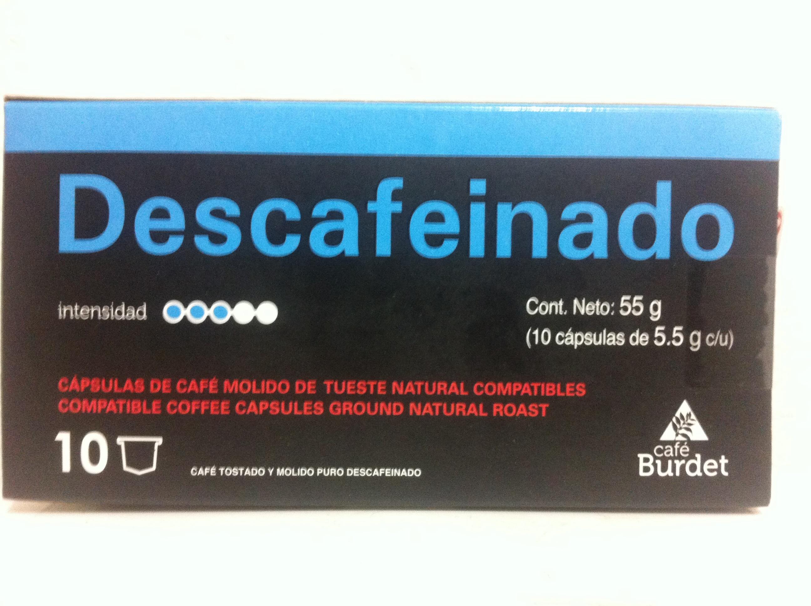 Walmart: Cápsulas de café Burdet a $6.01