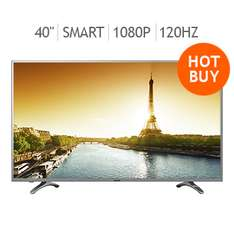 "Costco: Sharp LED 40"" Smart TV 1080p 120Hz Aquomotion LC40N5000 a $5,999 + MSI con TDC Costco y Citibanamex"