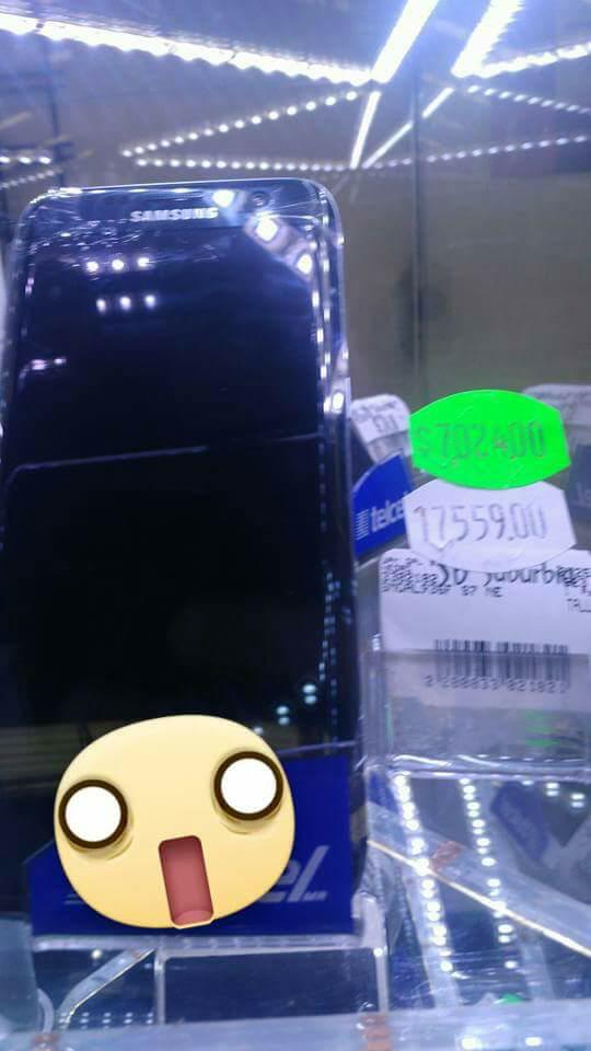 Suburbia: Samsung S7 Edge a $7,024