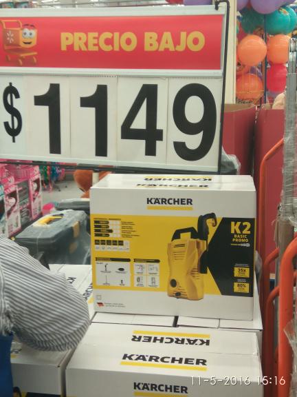 Walmart: hidrolavadora Karcher