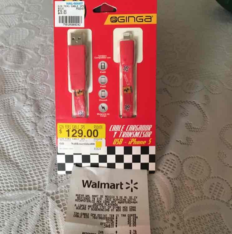 Walmart: accesorios para tu celular Ferrari desde $10.03