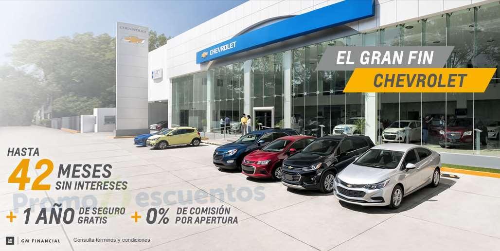 Promociones del Buen Fin 2016 en autos Chevrolet
