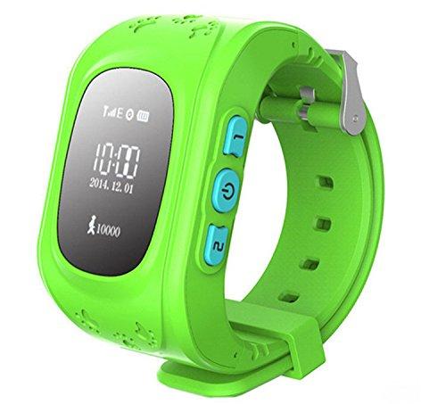 Amazon: GPS Tracker Rastreador Niños Smartwatch con Celular - Verde de $1799 a $699
