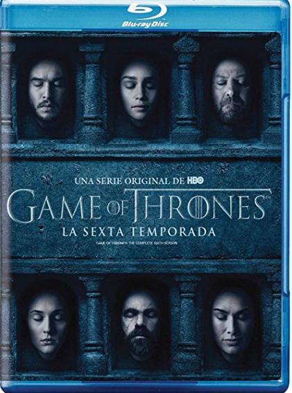 Amazon MX: Preventa Game of Thrones Temporada 6 Blu-Ray
