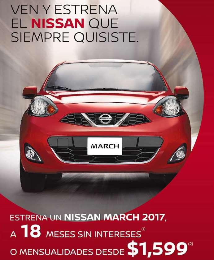 Promociones del Buen Fin 2016 en automóviles Nissan