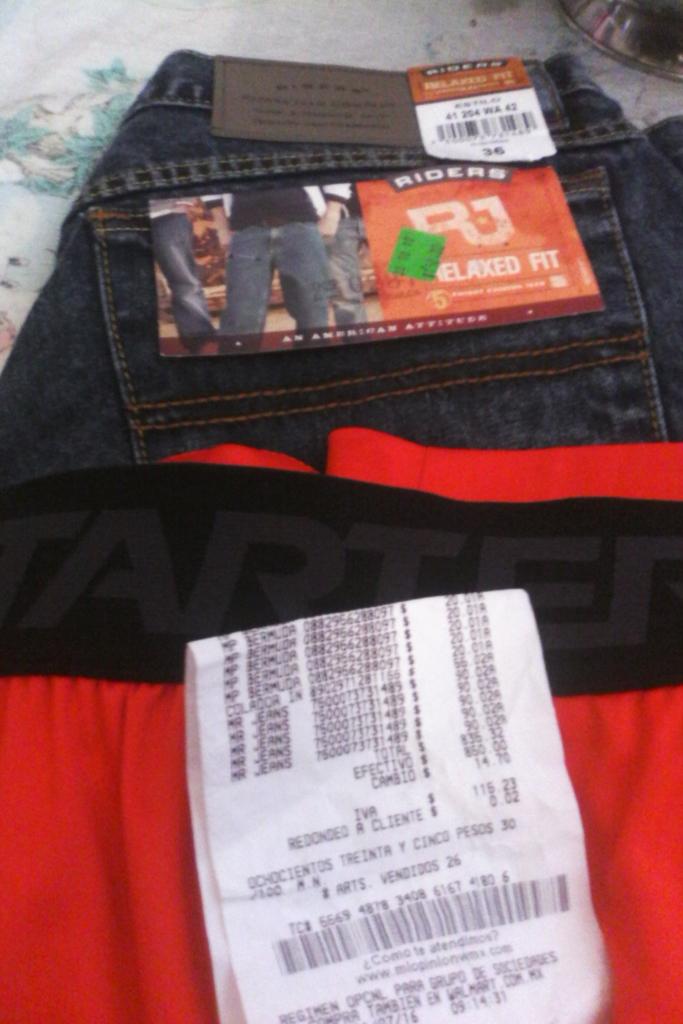 Walmart Horizonte: jeans Riders caballero a $90.02, colador escurridor a $55