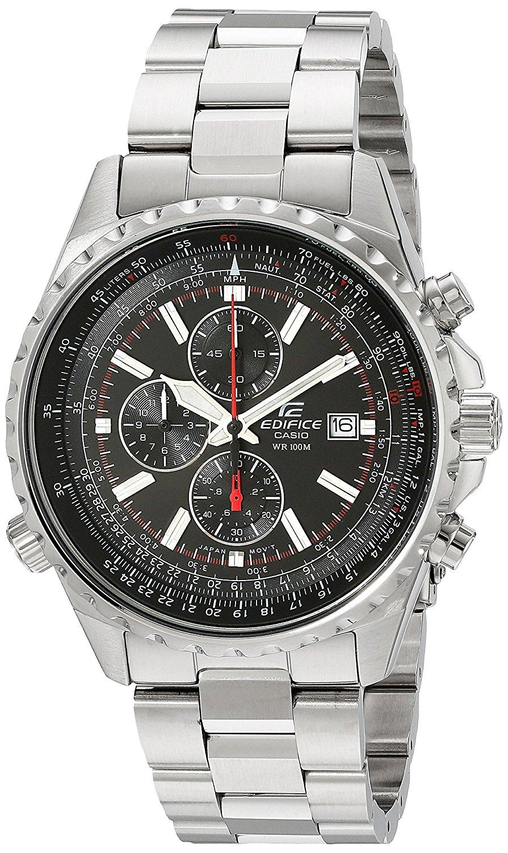 Amazon: Reloj Análogo para Hombre, Acero Inoxidable Casio Edifice EF-527D-1AVCF