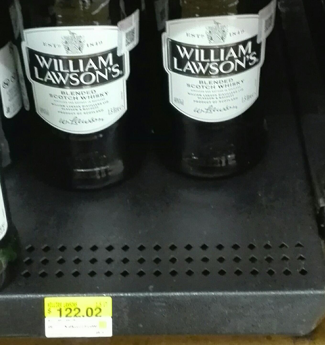 Walmart Vallarta Gdl: Whisky William Lawson's 1.5 Lts