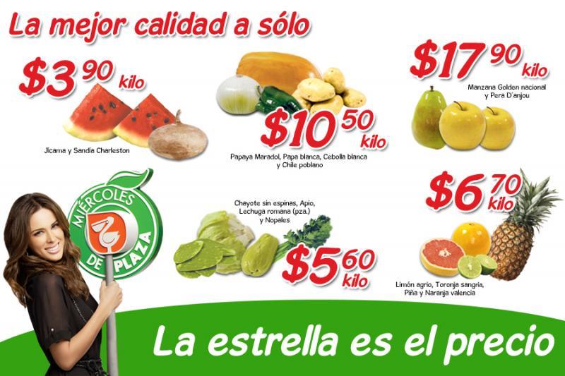 Miércoles de Plaza en La Comer marzo 28: sandía $3.90 Kg, piña $6.70 Kg y más